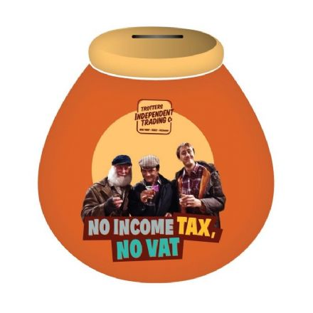 Only Fools and Horses 'No Income Tax' Pot Of Dreams